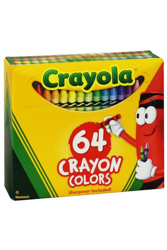 Crayola Crayons With Sharpener...