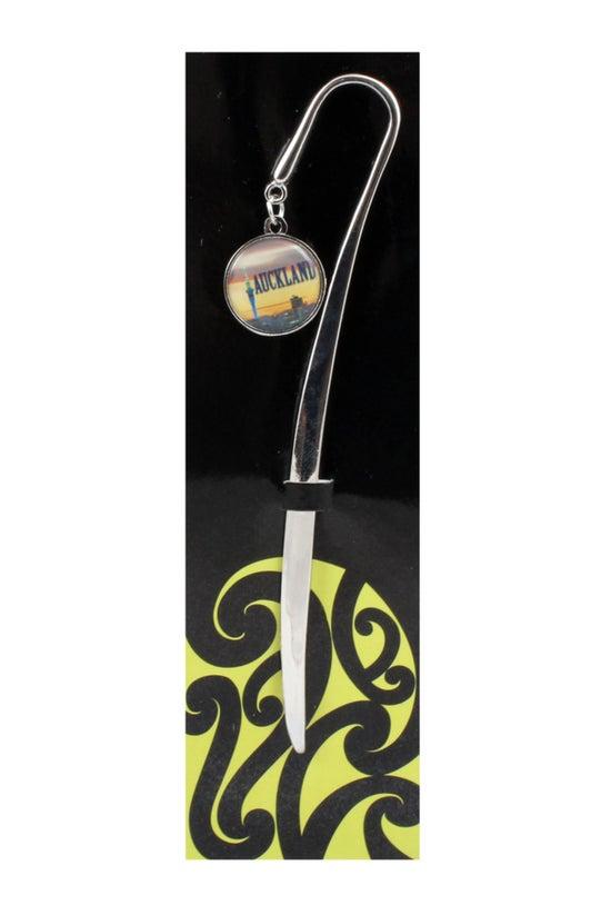 Nz Souvenir Bookmark With Dome