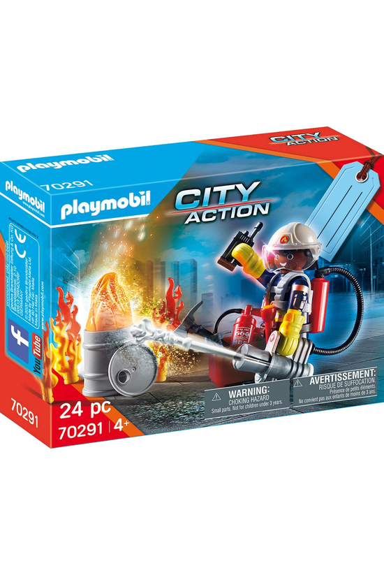 Playmobil Fire Rescue Gift Set...