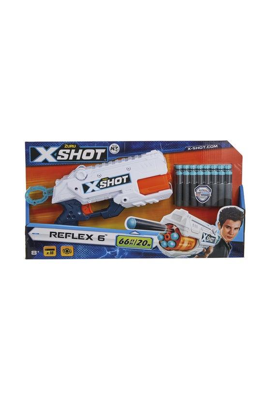 X-shot Excel Reflex 6 Dart Gun