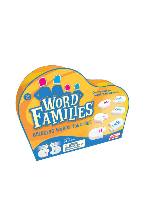 Junior Learning Word Families ...