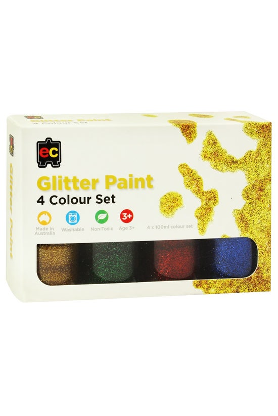 Educational Colours Glitter Pa...
