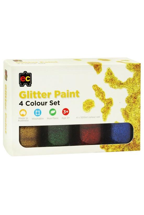Educational Colours Glitter Pa...