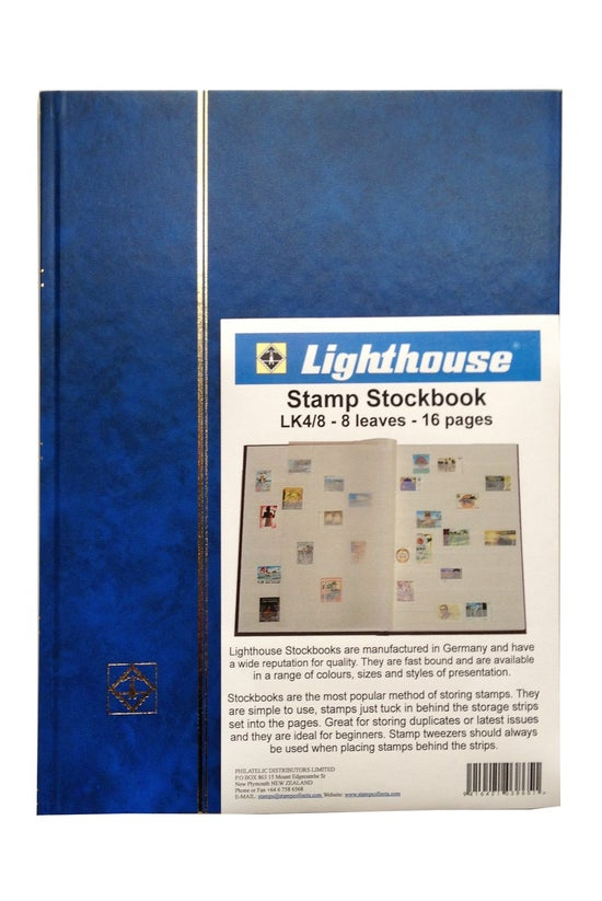 Lighthouse Stamp Stockbook Lk4...