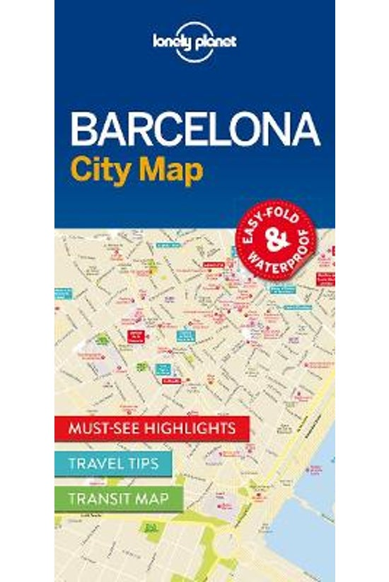 Lonely Planet Barcelona City M...