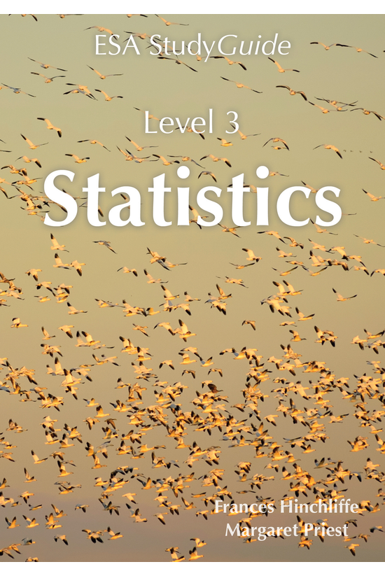 Esa Level 3 Statistics Study G...