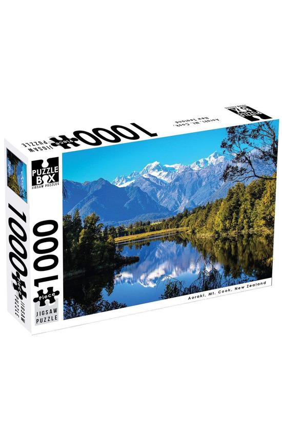 Puzzle Box Aoraki, Mt. Cook, N...
