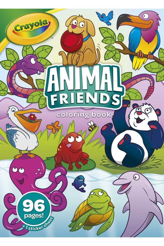 Crayola Animal Friends Colouri...
