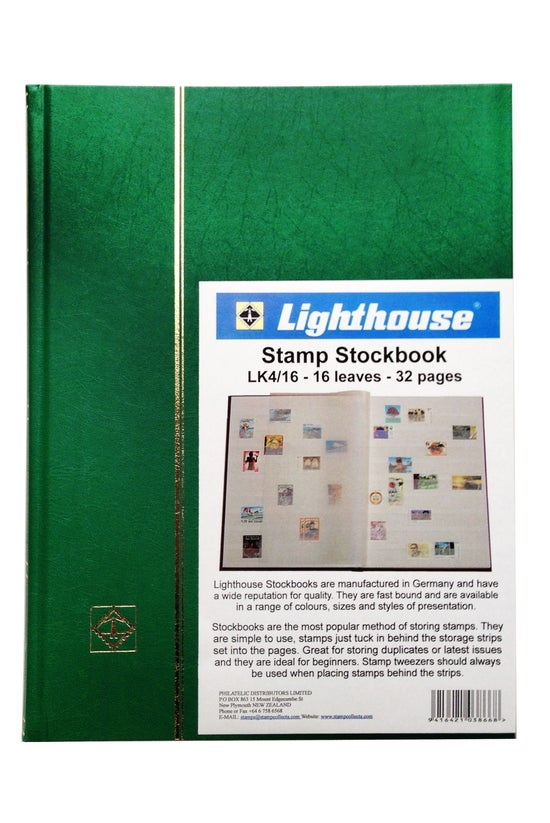 Lighthouse Stamp Stockbook Lk4...