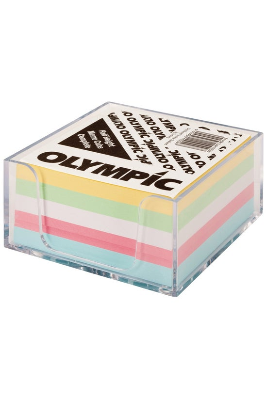 Olympic Memo Cube With Holder ...