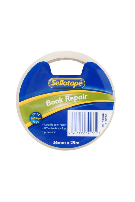Sellotape Book Repair Tape 36m...