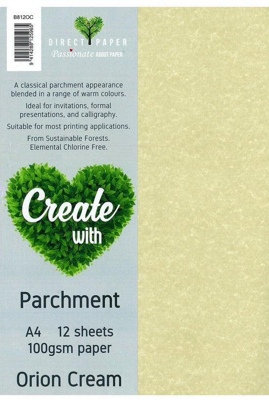 Direct Paper Parchment A4 Pape...