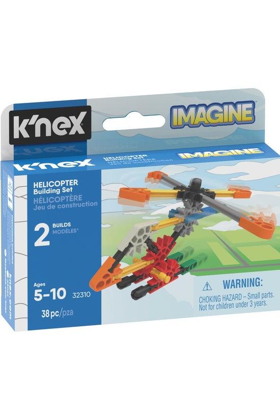 K'nex Helicopter Micro Buildin...
