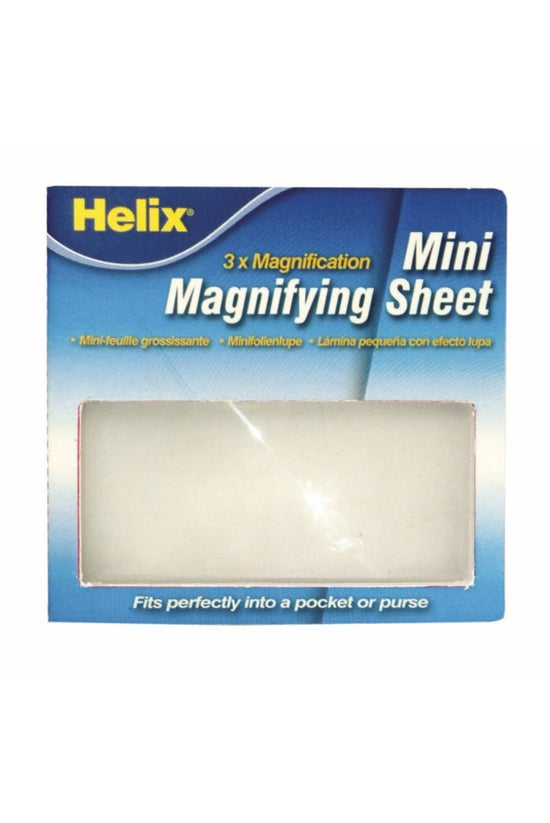 Helix Magnifying Sheet Mini 3x