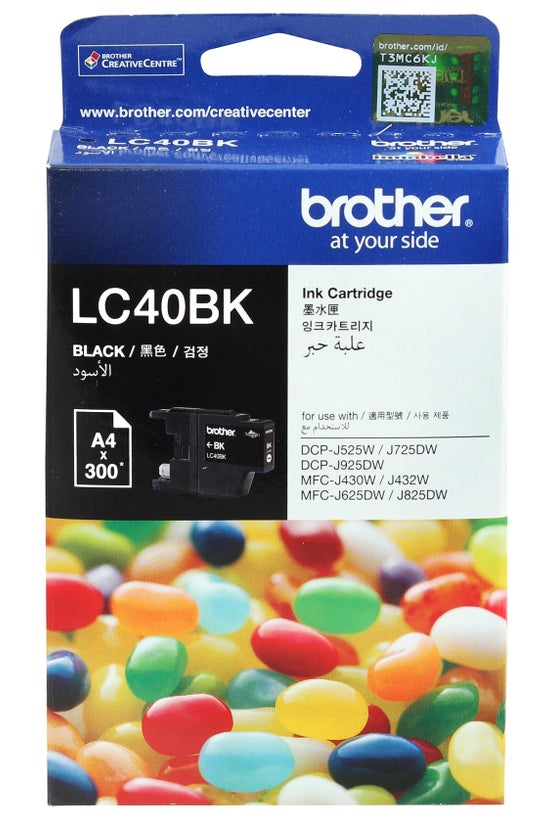 Brother Ink Cartridge Lc40bk B...