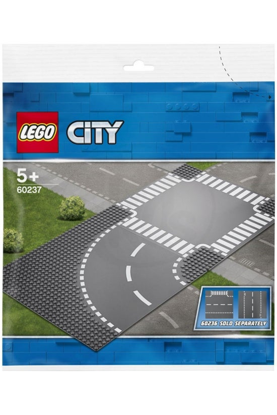 Lego City: Curve And Crossroad...