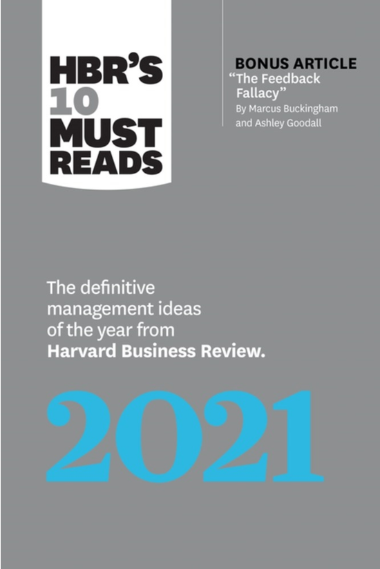 Hbr's 10 Must Reads 2021