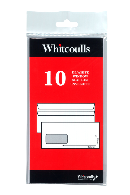 Whitcoulls Window Envelopes Dl...