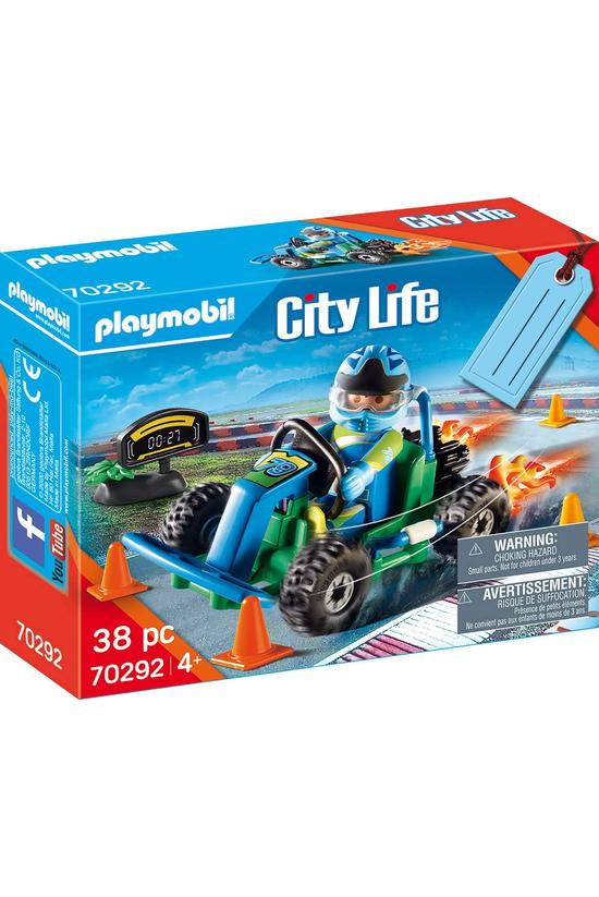 Playmobil Go-kart Racer Gift S...