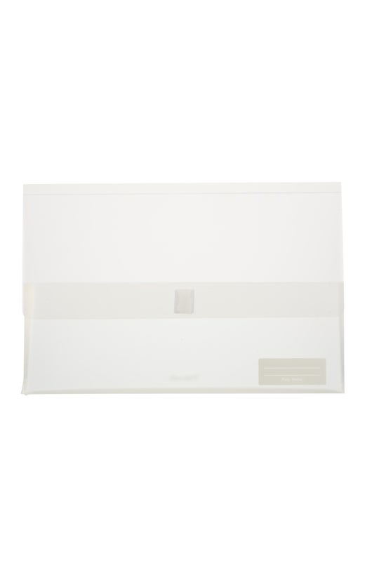 Whitcoulls Poly Wallet Clear