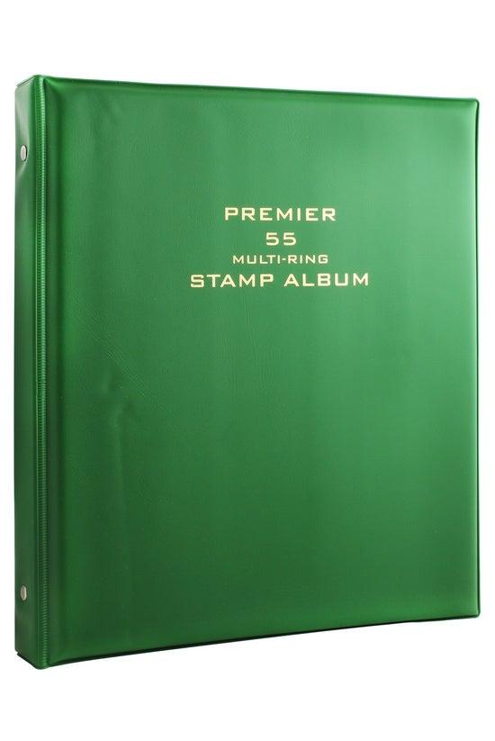 Premier 55 Stamp Album