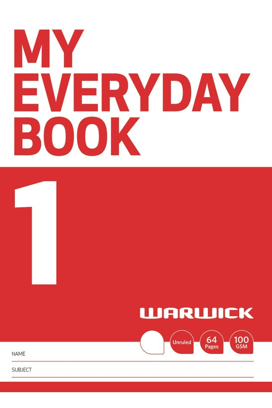 Warwick My Everyday Book 1 - U...