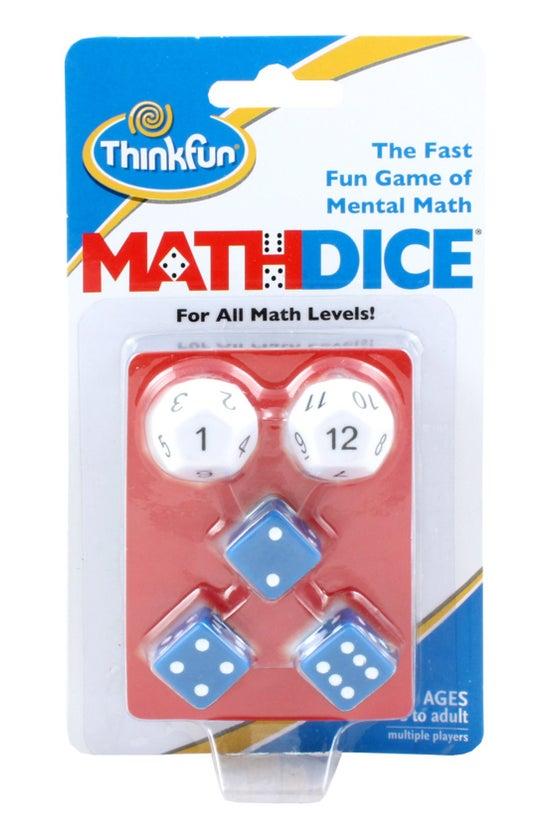 Think Fun Maths Dice Game