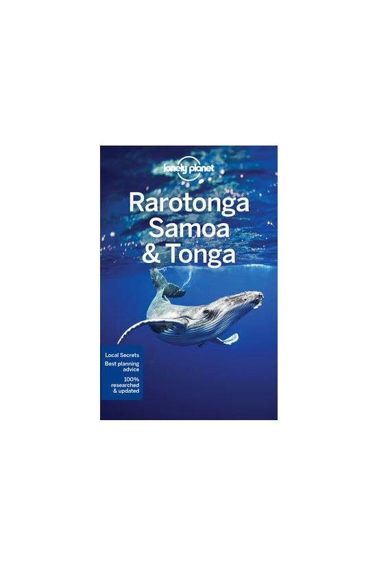 Lonely Planet Rarotonga, Samoa...