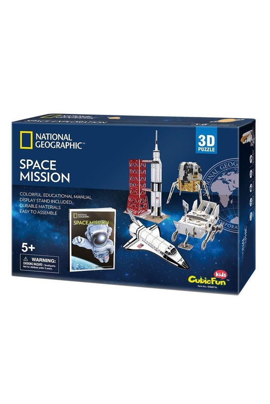 National Geographic 3d Puzzle ...
