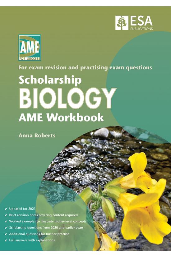 Scholarship Biology Ame Workbo...