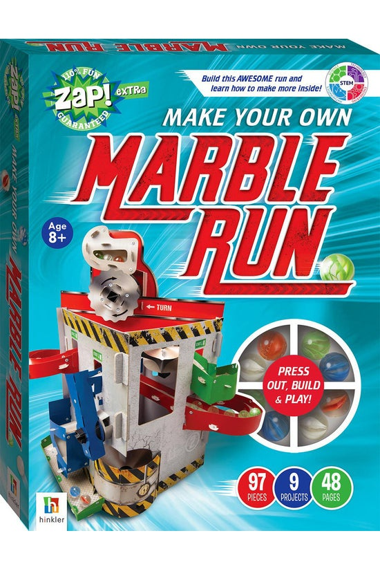 Zap! Extra: Make Your Own Marb...