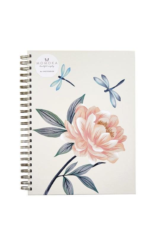 Whsmith Momoka A4 Flower Noteb...