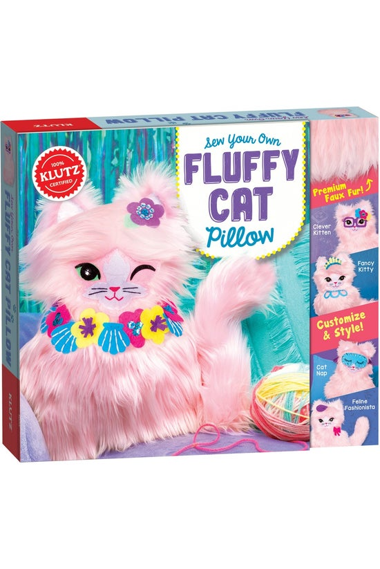 Klutz: Sew Your Own Fluffy Cat...