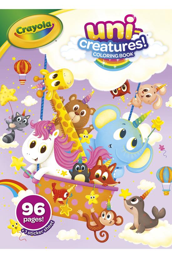 Crayola Uni-creatures Colourin...