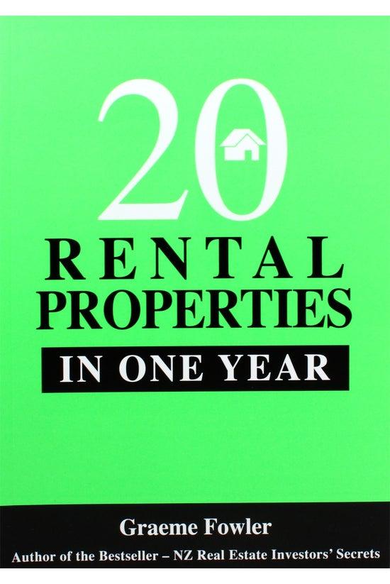 20 Rental Properties In One Ye...