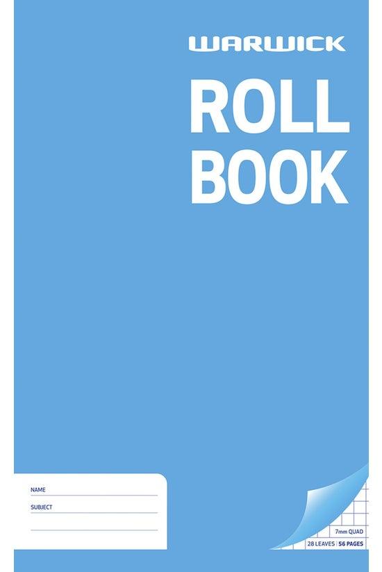 Warwick Roll Book 330 X 205mm ...