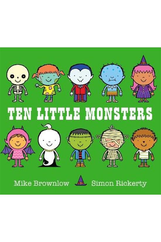 Ten Little #04: Ten Little Mon...