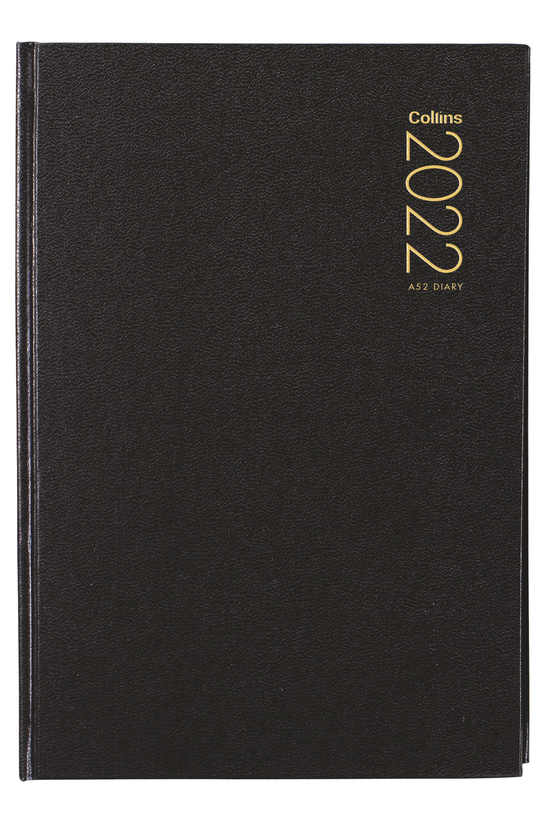 2022 Diary Collins A52 Two Day...
