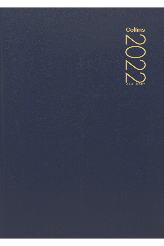 2022 Diary Collins A43 Week To...