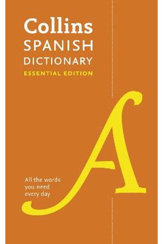 Collins Spanish Essential Dict...