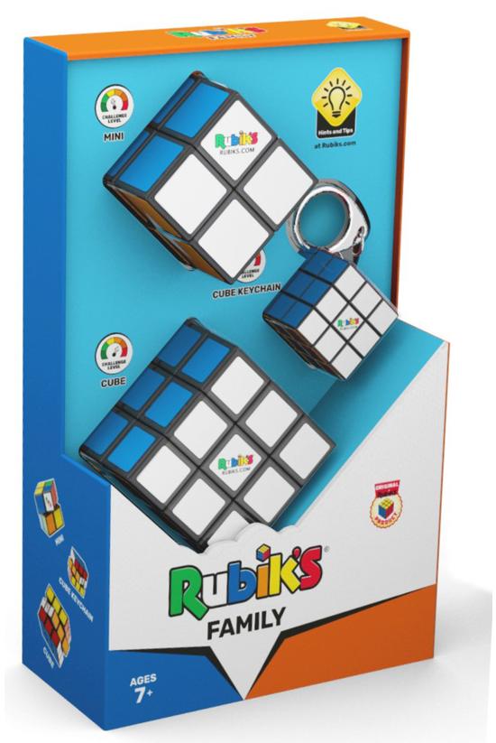 Rubiks Cube Family Pack