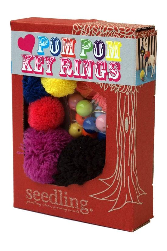 Seedling Pom Pom Key Rings Kit