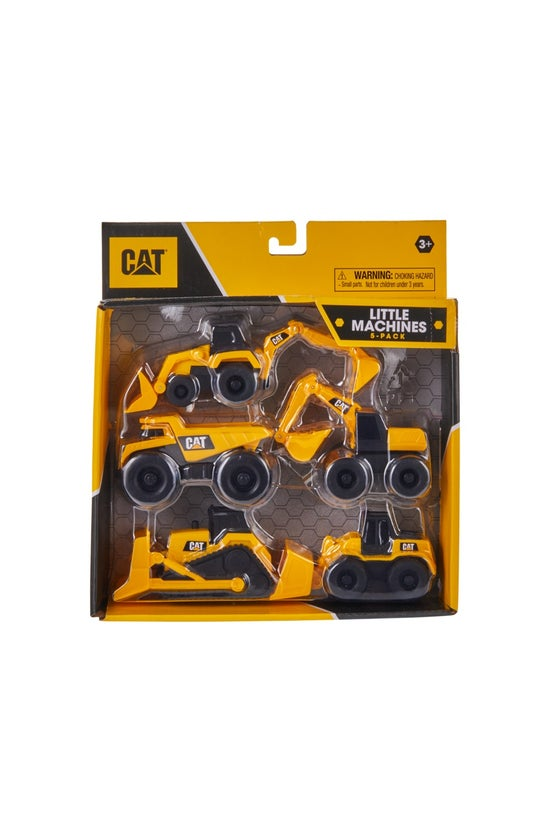 Cat Little Machines Pack Of 5