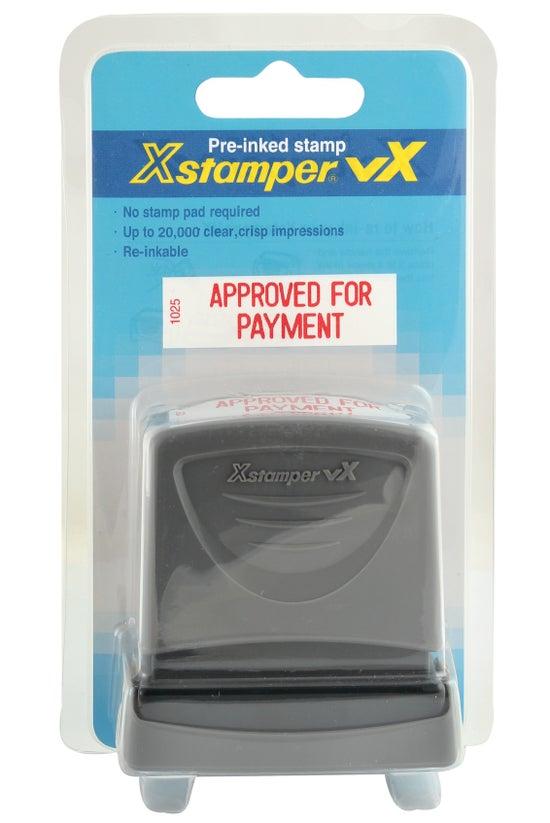 Xstamper Pre-inked Stamp Appro...