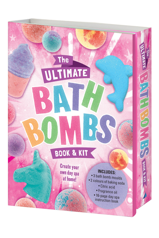 The Ultimate Bath Bombs Book A...