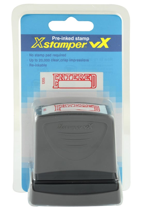 Xstamper Pre-inked Stamp Enter...