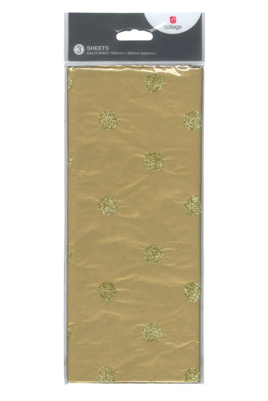 Collage Tissue Paper Glitter S...