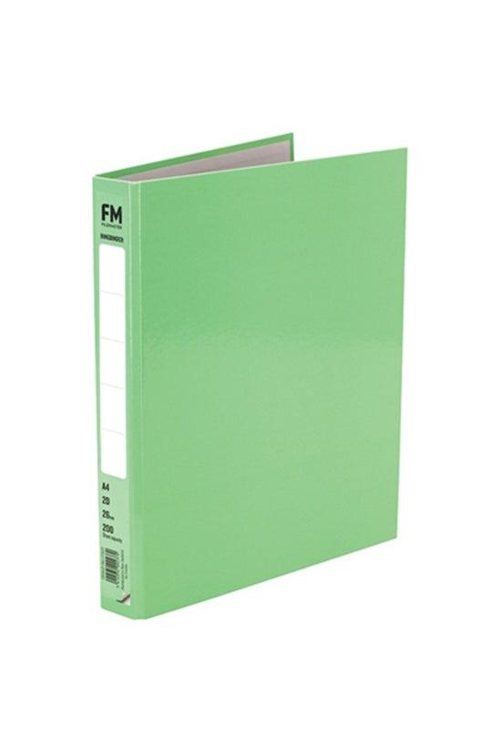 Fm Ringbinder A4 Pastel Green