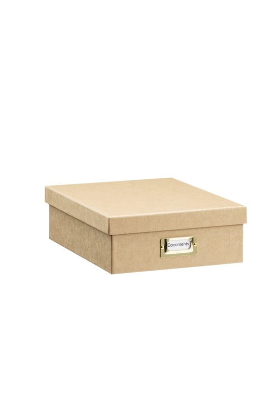 Whitcoulls Document Box Brown ...