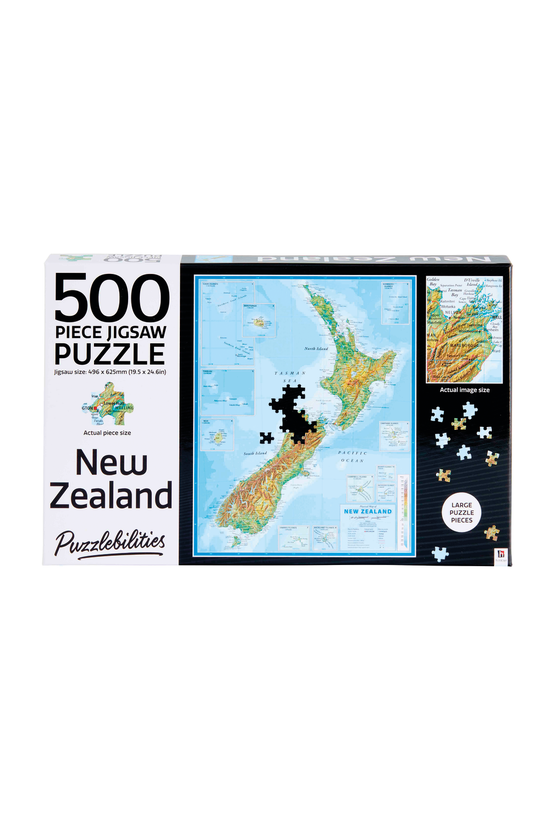 Puzzlebilities New Zealand And...